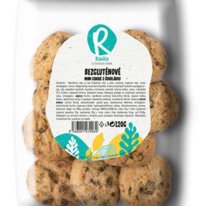 bezglutenove mini cookies s cokoladou ravita