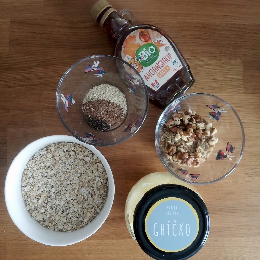 Ako variť udržateľne domáca granola