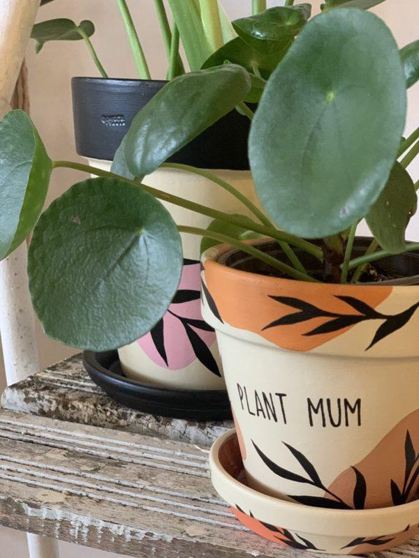 Terakotový kvetináč plant mum