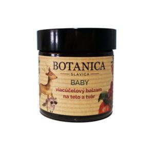 Viacúčelový balzam na telo a tvár 60 ml Botanica Slavica Baby